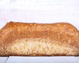 Rustic sliced bread loaf 10x24