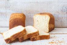 Dairy soft crust bread