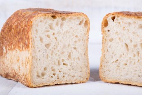 Rustic sliced bread loaf 10x24